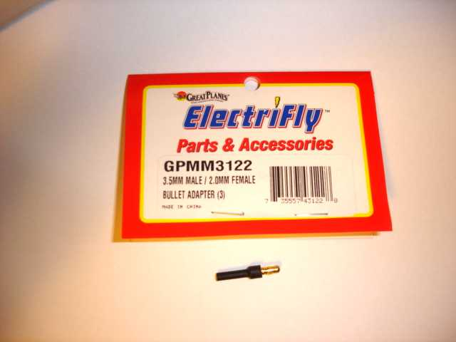 Electrifly makes a Bullet Adaptor model GPMM3122 that allows you to plug the motors and escape together with no soldering.