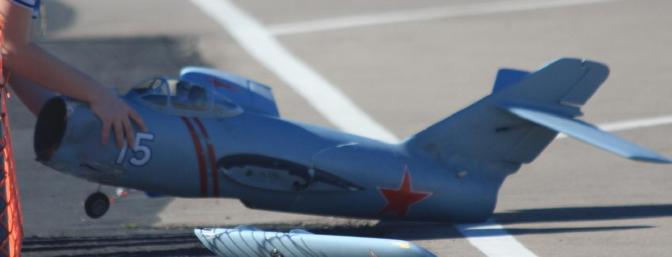 On a later flight the nose wheel wouldn't turn during landing and a crash resulted.
