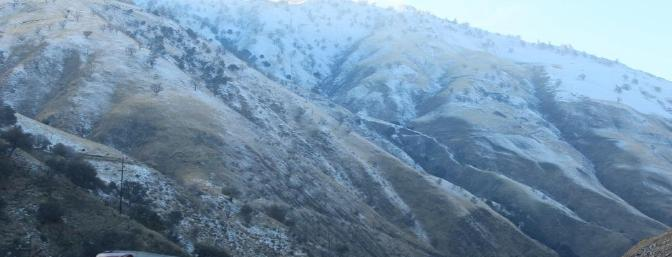 Going home over the Grapevine on Saturday, it was hard to see why the road had been closed for snow less than 30 hours earlier.