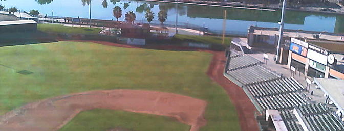 Banner Island ball park, home to the Stockton Ports