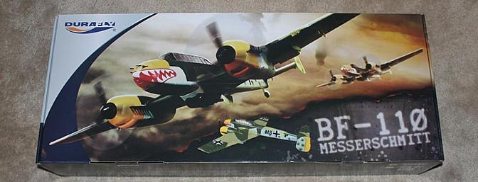 The BF 110 can in this colorful box and this box arrived inside of a strong plain brown box.
