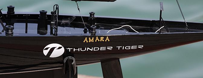 The boat is named the AMARA in honor of my granddaughter.