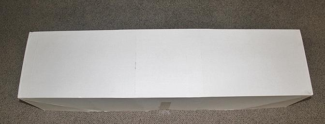 My plane came in this plain white box. The white box came in a strong corrugated brown box and it arrived in good condition.