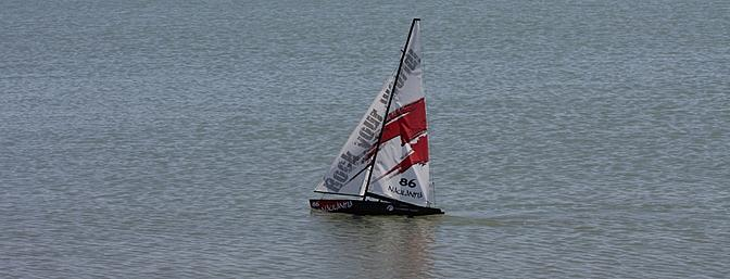 The Naulantia properly set up to allow camber in the sail and with the control lines rigged correctly was a joy to sail.