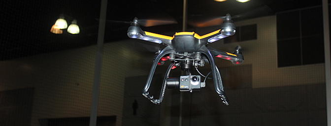 Ora FPV Quadcopter Sighting at the AMA Expo