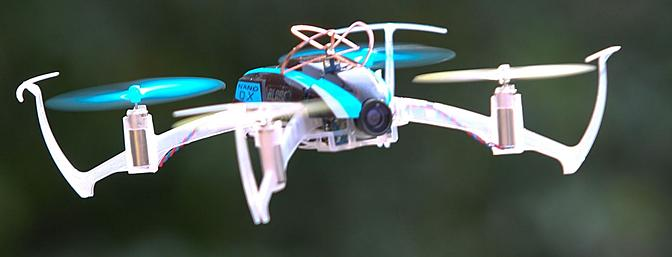 Horizon Hobby & Blade's FPV Nano QX RTF With Fat Shark Vision System Review