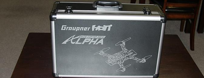 Graupner's Alpha 250Q Race Copter Review