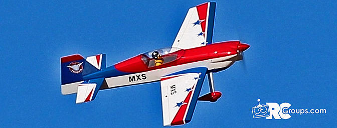 Phoenix Model and Tower Hobbies 1/5 MXS Aircraft GP/EP ARF