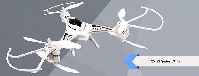 Tmart Has The Cheerson CX33S 2.4G 720P HD Camera 5.8G FPV  Y-Copter Now Available