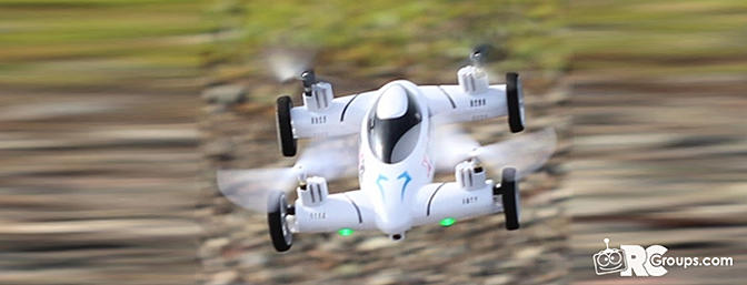 Tmarts X25-1 Space Explorer Quadcopter/RC Flying Car Review