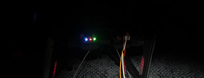 The LEDs are used with the computer connection.