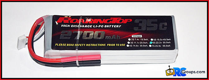 RC Jetwerx and RoaringTop LiPo Battery Packs