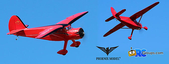 Phoenix Model Stinson Reliant ARF - RCGroups Review