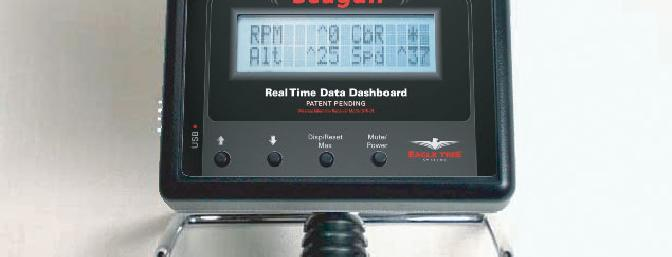 Dashboard attached to transmitter. (Eagle Tree picture)
