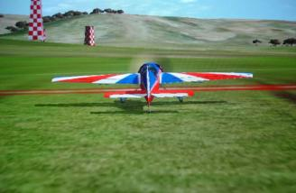 This is the recorded Yak at the Air Race Stadium. (The chase view from this field is not in the videos.)