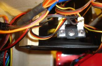 Here is the forward facing speaker before I enclosed it with a sound box.