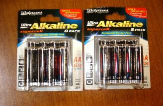 I only needed 12 AA batteries but they were cheaper as two packs of eight.