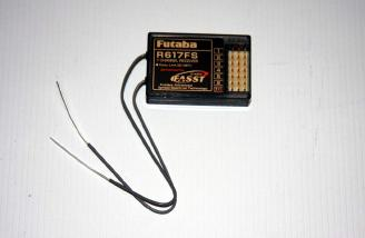 Futaba R617FB 7 channel 2.4GHz receiver.