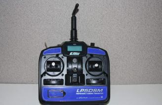 The LP5DSM transmitter that comes with the RTF. This one actually came with my CX2.