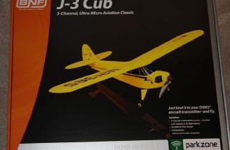 The BNF version of the J-3 Cub came in this box.