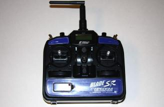 The HP6DSM 6 channel DSM2 transmitter is especially programmed for the SR helicopter and is an integral component in the designed handling of the SR helicopter system.