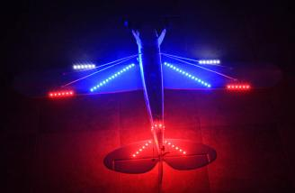 The LEDs on the bottom of the wing really provide a lot of light.