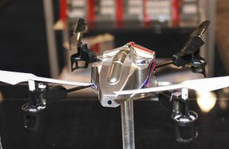 The new Blade mQX micro quad-copter is about a month away from being available.