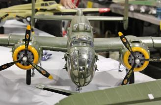 An even large B-25 is coming in February and should sell for about $400.00.