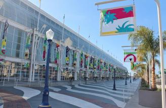 The Long Beach Convention Center was home to this year's RCX. This entrance was not the show entrance.