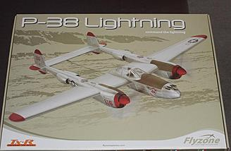 The P-38 comes nicely packaged in this box.