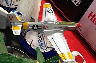 Cathy II is a P-51 Mustang.