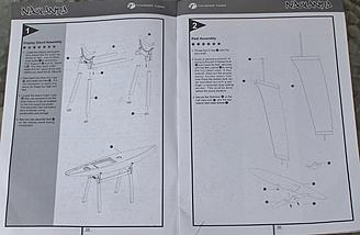 The instructions for the Stand and Keel Assembly covered below.