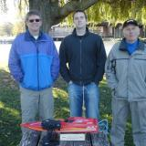 The pit crew on Thanksgiving included Al Brose, Jeff Heer and Rupert Fixott.