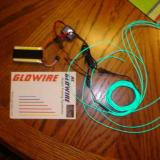 The Glowire parkflyer kit sells for about $35.00 and has three strands 3' long. I picked green for the haunted pirate ship.