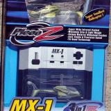 The MX-1 and the transmitter are nicely displayed in the retail box.