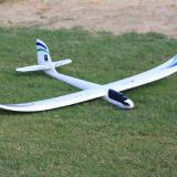 The new ParkZone Radian 2-meter electric glider coming out later this month.