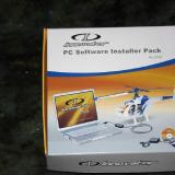 I purchased the additional PC software and FMS flight simulator.