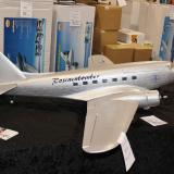 Cermark's new DC-3 with a 73 inch wingspan and nice size twin brushless motors.