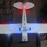 My HobbyZone Super Cub with Gorilla Bob's lights V1