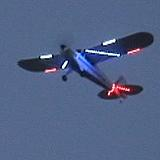 My Super Cub in flight looks great from the bottom as seen here.