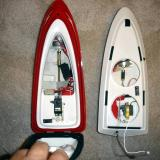 "Hull access for the two boats. Ref Racer on the Left the ""2"" on the right."