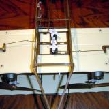 All wires now installed correctly and Vs bent to get the ailerons to neutral.