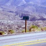 The 1,000 foot altitude sign.