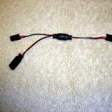 You get 4 Y harnesses for monitoring servos.