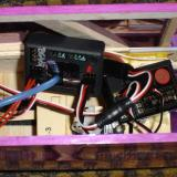 Here is the FDR installed and connected in my Brummi.