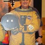 Article author as an astronaut!