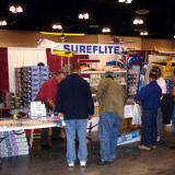Sureflight was on the right isle from the GWS booth and seemed to have good sales.