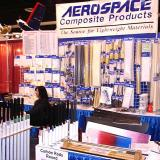 Aerospace Composite Products, saw a lot of their carbon rods at the show.