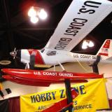 Nicely displayed Coast Guard float plane