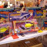 A variety of flying toys for sale